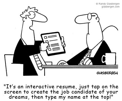Cartoon - Interactive CV